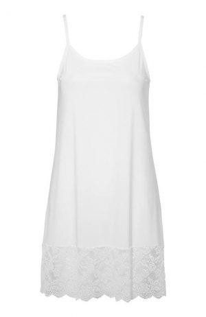 Cellbes Nattlinne/underklänning Vit