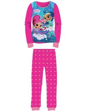 Mörk Rosa Shimmer and Shine Pyjamas till Barn
