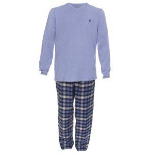 Jockey USA Originals Mix Pyjama Blå bomull Large Herr