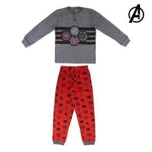 Grå och röd pyjamas barn The Avengers